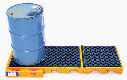 Drum Spill Pallet for 3 Drums