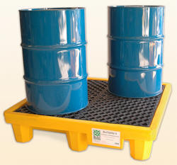 Drum Spill Pallet for 4 Drums