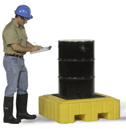 Drum Spill Pallet for Single Drum
