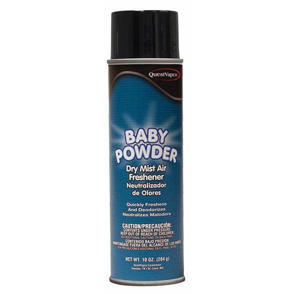 Dry Mist Air Freshener, Baby Powder, 10 oz