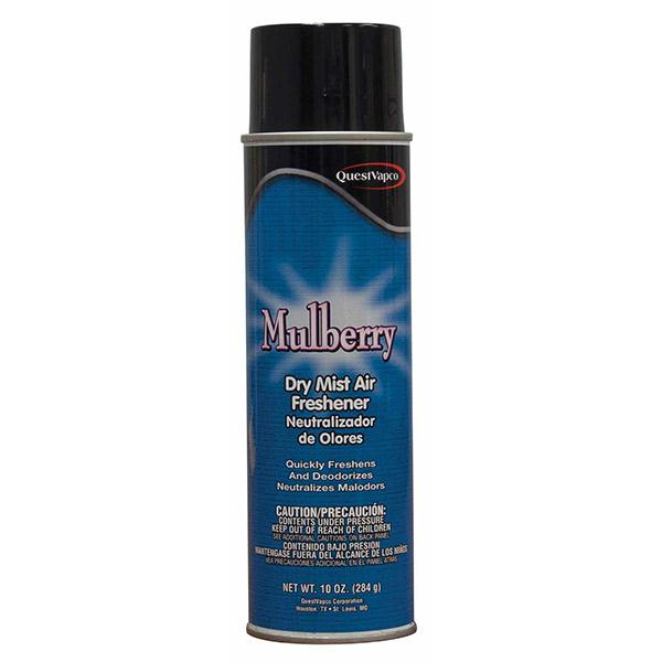 Dry Mist Air Freshener, Mulberry, 10 oz