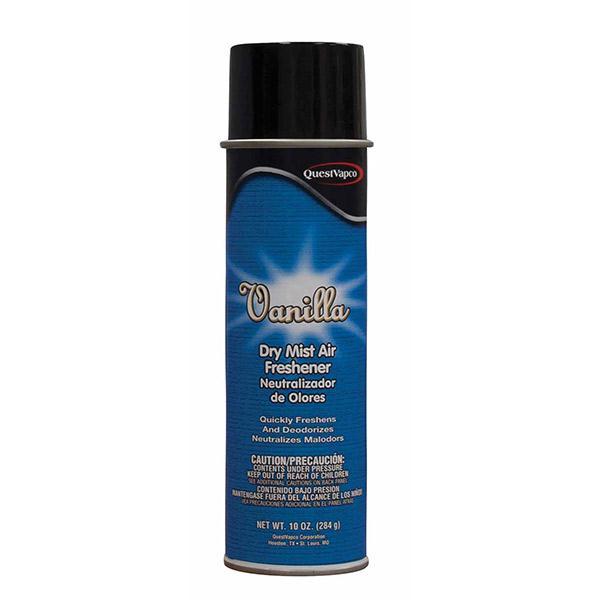 Dry Mist Air Freshener, Vanilla, 10 oz