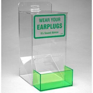 Earplug Dispenser, 13H x 6W x 8D