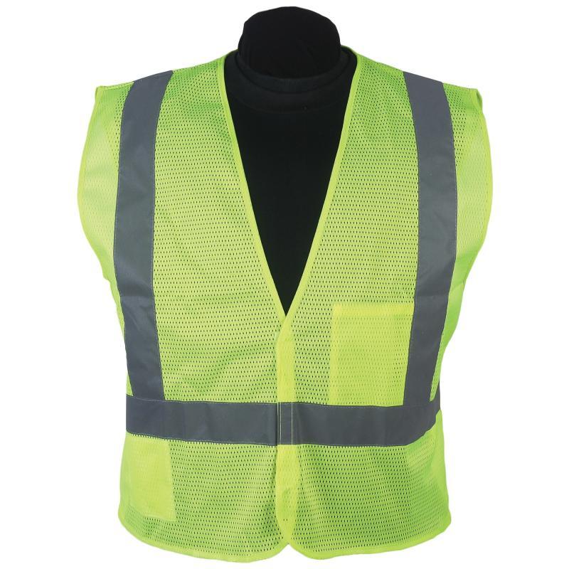 Econo Vest Lime Adjust Velcro Strip