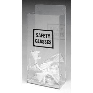 Economy Visitor Spec Dispenser w/ SAFETY GLASSES Legend