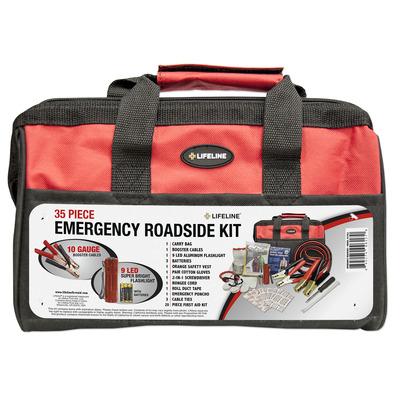 Emergency Roadside Kit - Wide-Mouth Bag