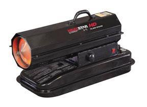 Enerco HD Portable Direct-Fired Forced Air Kerosene Heater, HS75KT 75,000 BTU/HR