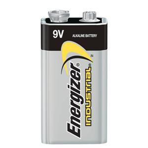 Energizer® Industrial® 9V Alkaline Batteries (12/Pkg)