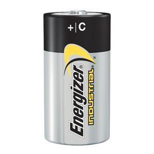 Energizer® Industrial® C Alkaline Batteries (12/Pkg)