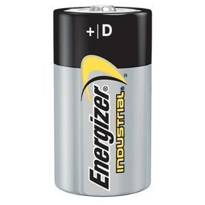 Energizer® Industrial® D Alkaline Batteries (12/Pkg)