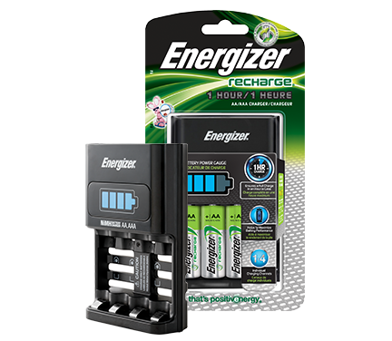 Energizer® Recharge® 1 - Hour Fast Charger (For AA/AAA Batteries)