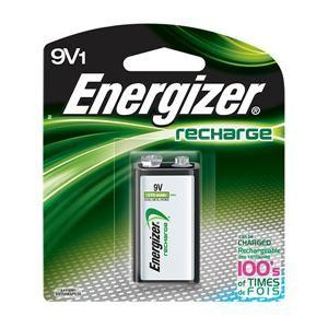 Energizer® - Recharge® Rechargeable 9V Battery