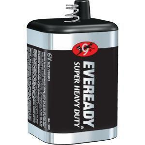 Eveready® Super Heavy Duty 6V Battery (Spring Top)