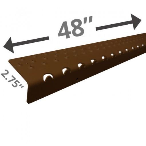 Extra Long 48 Non Slip Nosing – Brown