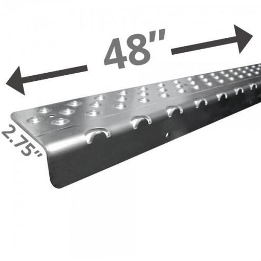 Extra Long 48 Non Slip Nosing – Plain Silver