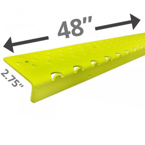 Extra Long 48 Non Slip Nosing – Yellow