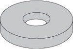 F436 Extra Thick Structural Flat Washers Plain Steel Made in USA