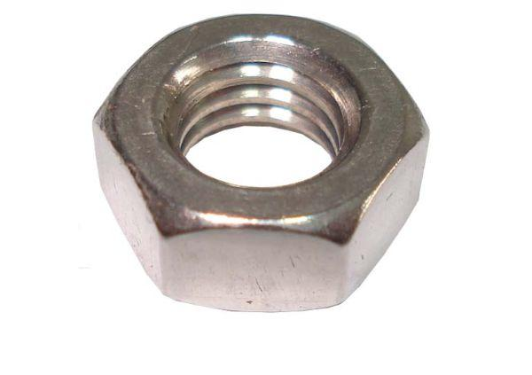 Finish 316 Stainless Steel Hex Nut 1/2-13