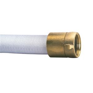 FireTech™ Single Jacket Hose, 1 1/2 x 100', Brass NST
