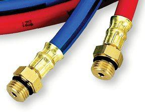 FJC 6445 Premium R134a 10' Charging Hoses, Red and Blue Set