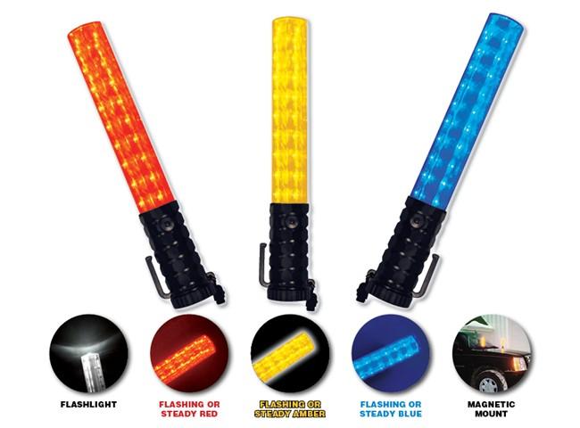 Flashback Three™ Light Baton (Red)