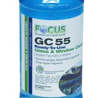 Focus GC 55 Ready To Use Glass & Window Cleaner (1 Case / 12 Quarts)