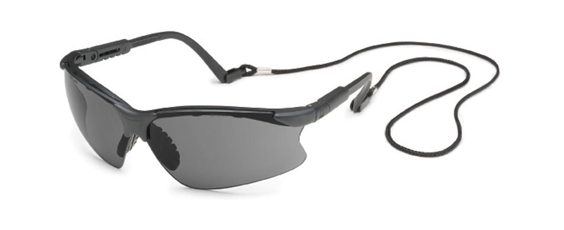 Gateway Safety Scorpion® Gray Lens Black Frame Safety Glasses - 10 Pack