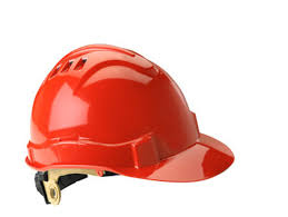 Gateway Safety Serpent® Hi-Viz Orange Cap Style Ratchet Suspension Unvented Hard Hat  - 10 Pack