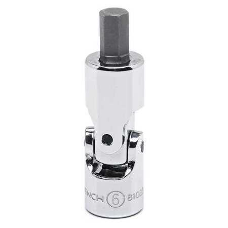 GearWrench 1/4 Drive 4mm Universal Hex Bit Socket