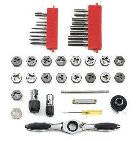 GearWrench 3885 40 pc. GearWrench® 40 Tap and Die Set - SAE