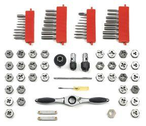 GearWrench 3887 75 pc. GearWrench® Tap and Die Set - SAE & Metric