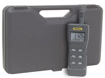 General Tools CDM77535 Handheld Digital Environmental Meter With Co2 /rh / Temperature