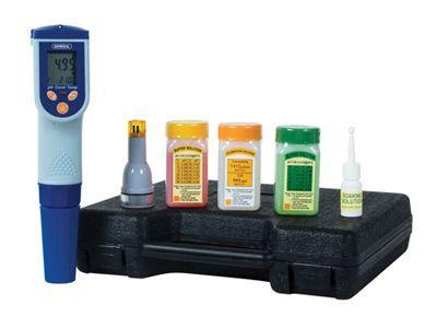 General Tools WK7200 Complete Waterproof Self Calibrating Micro Processor Kit:PH, MV, Temp, Cond, Tds, Salt