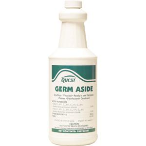 Germ Aside One Step Cleaner, Disinfectant & Deodorant, Qt