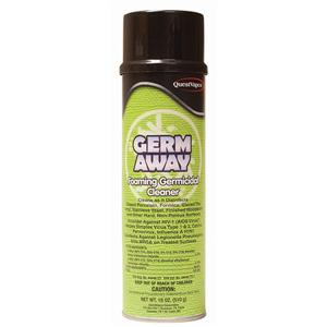 Germ Away Foaming Germicidal Cleaner., 18 oz
