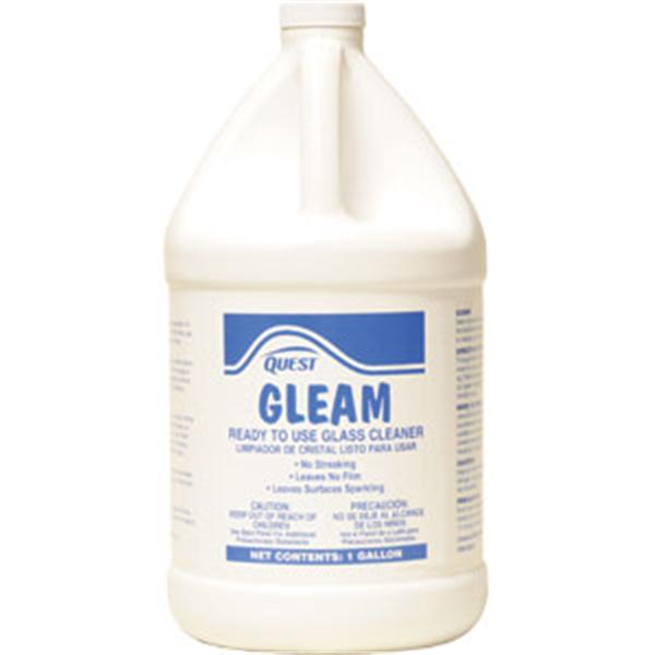 Gleam Ready-To-Use Glass Cleaner, Gallon