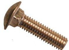 Grade 8 Zinc Yellow Plated Carriage Bolts