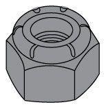 Grade C Locknut Nylon Insert Medium-Carbon Phosphate Oil