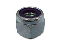 Heavy Hex Full Height (NU) Zinc Plated Steel Nylon Insert Lock Nuts