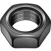 Hex Jam Steel Black Zinc Nuts