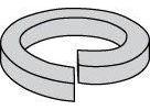 Hi-Collar Steel Plain Split Lock Washers