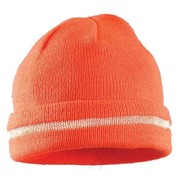 Hi-Vis Knit Cap, Orange