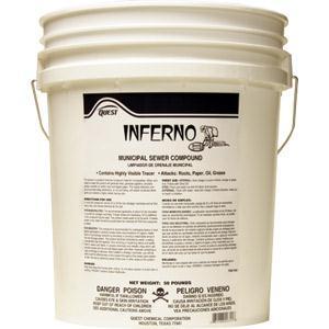 Inferno Municipal Sewer Compound, 50 lb. Pail