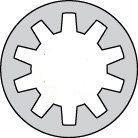 Internal 18/8 Stainless Steel Lock Washers