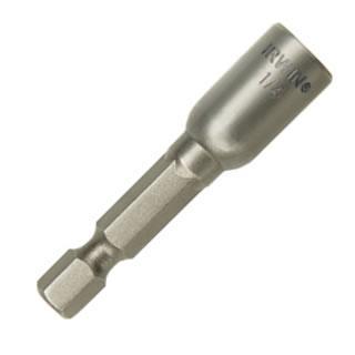 Irwin 1/4 x 1-7/8 Lobular Design Magnetic Nut Setter