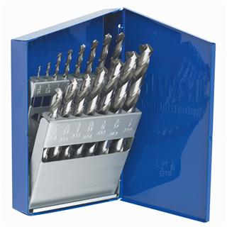 Irwin 15 Piece 3/8 Reduced Shank High Speed Steel Drill Bit Set