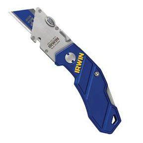 Irwin 2089100 Folding Utility Knife, Folding Grip