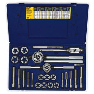Irwin 25-pc Fractional Tap & Hex Die Set