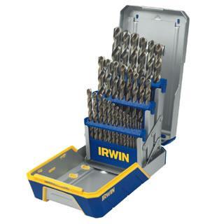 Irwin 29 Piece Cobalt M-35 Metal Index Drill Bit Set