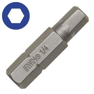 Irwin 6mm x 1-1/4 (5/16 Shank) Socket Head Insert Bit